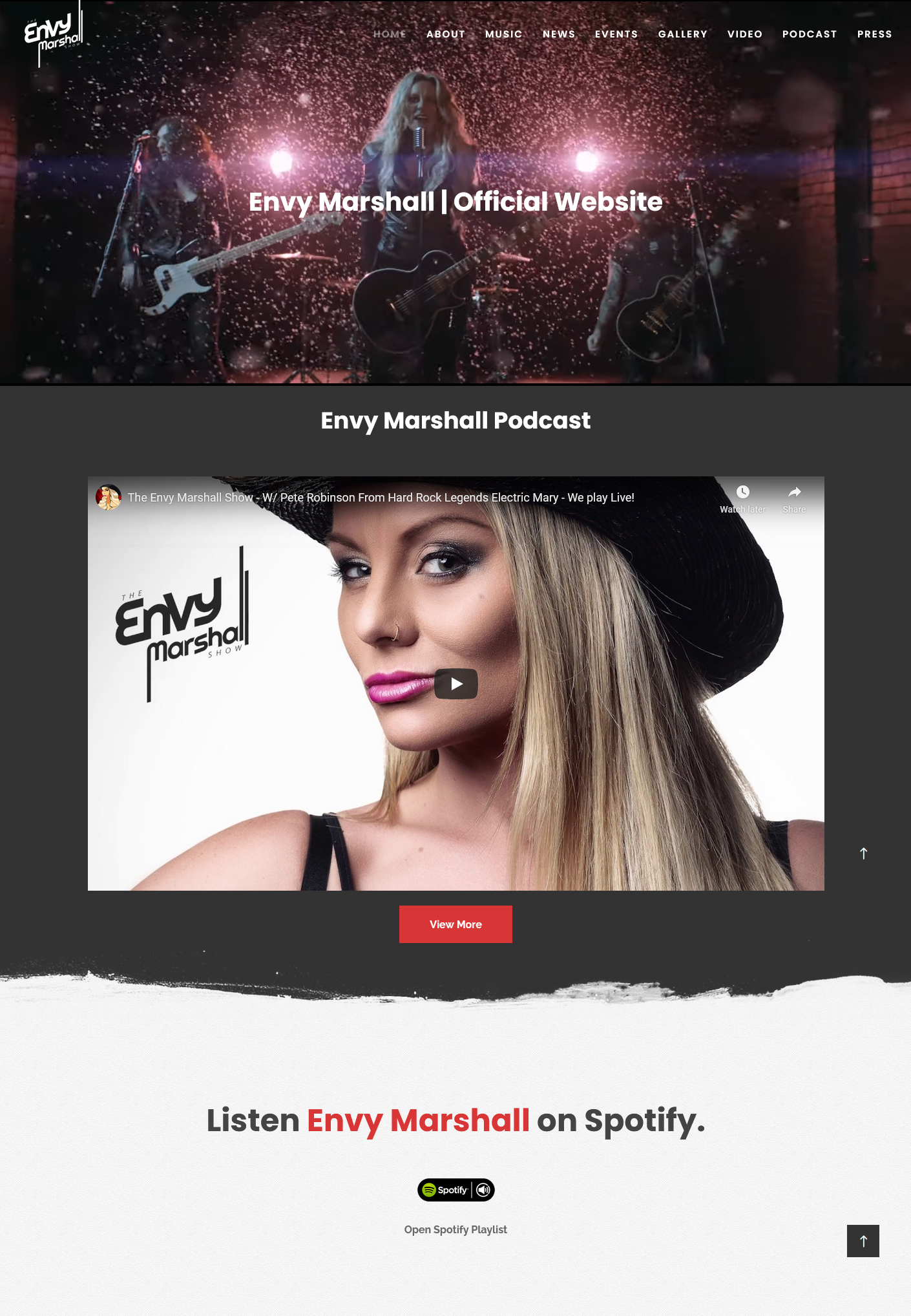 Izrada sajta EnvyMarshall.com