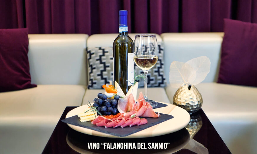 Snimanje reklame Falanghina Del Sannio
